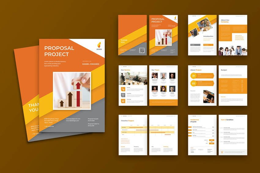 graphic designer proposal