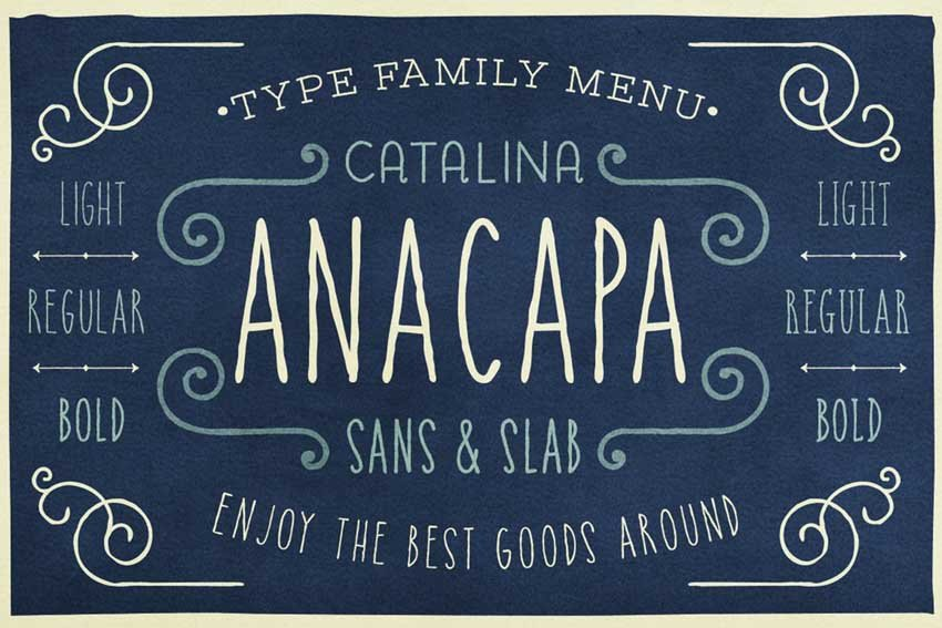 Catalina Anacapa Chalkboard Lettering Font
