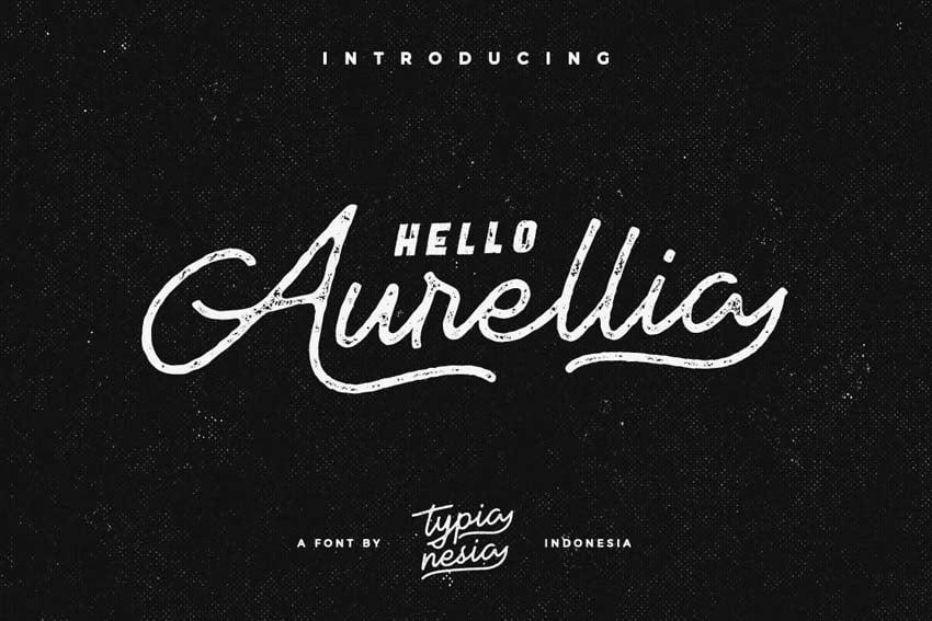 Aurellia Chalk Font