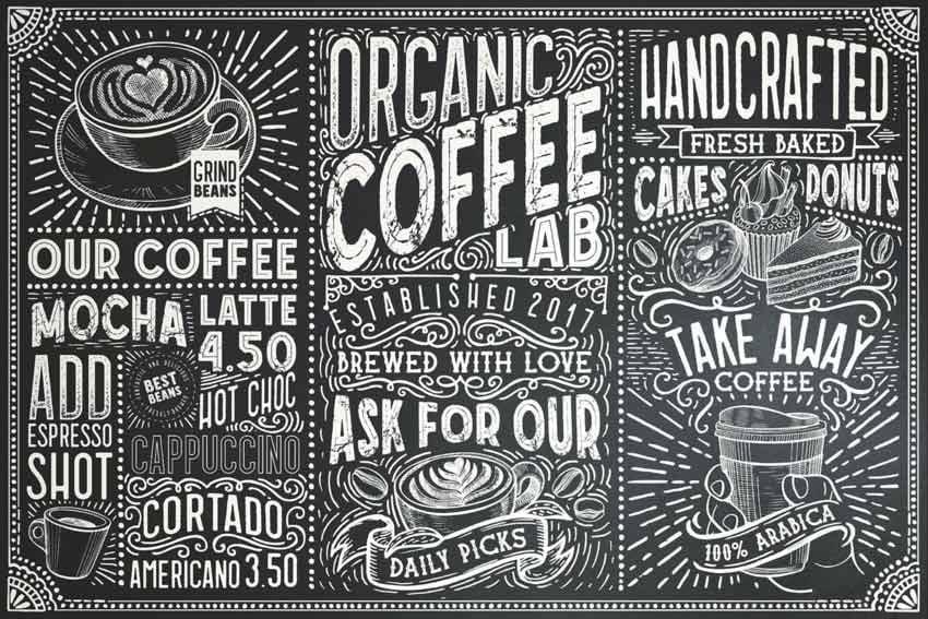 premium chalkboard font collection