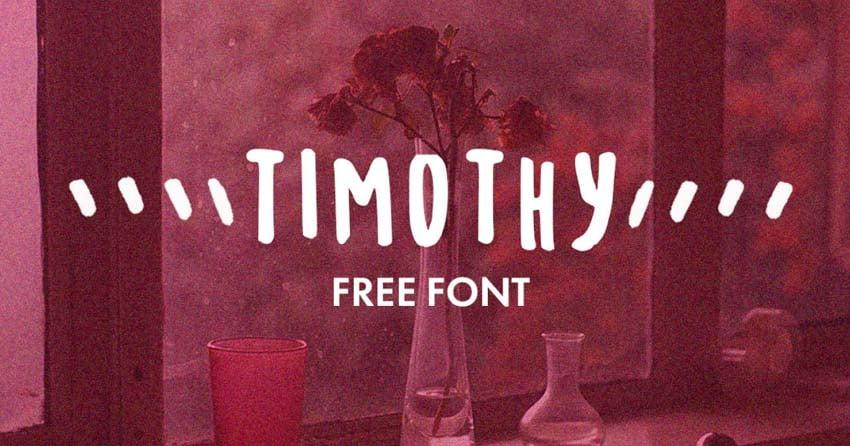 Timothy Free Font