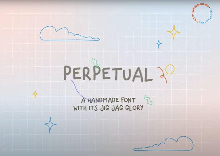 Perpetual Free Font