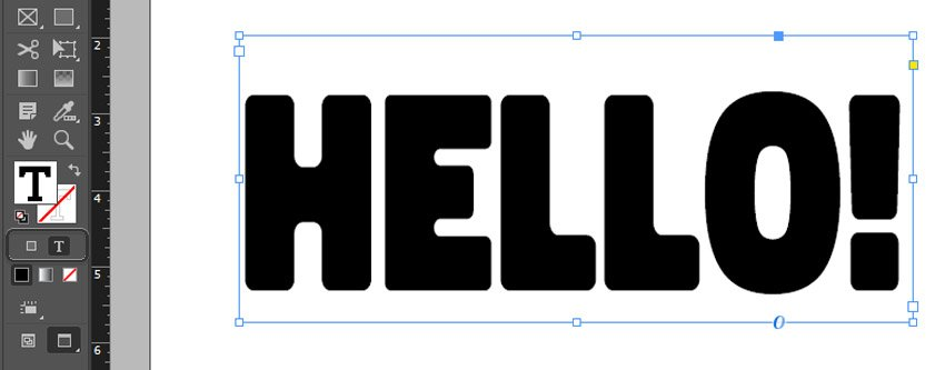 how to change text color in indesign