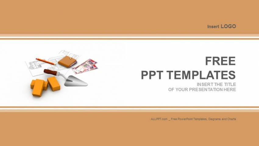Free PowerPoint Templates For Construction Company