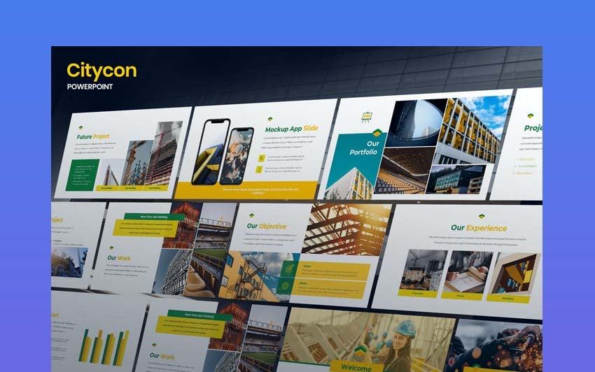 Construction Powerpoint Theme