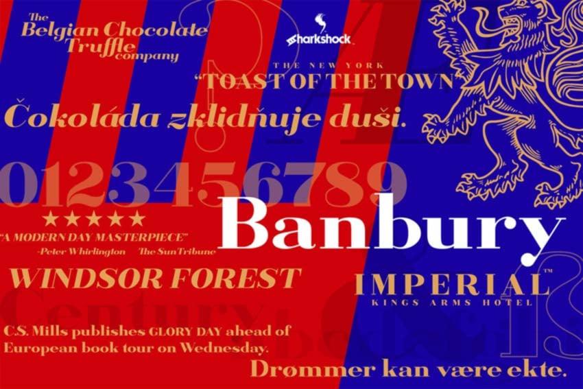 Banbury Display Font