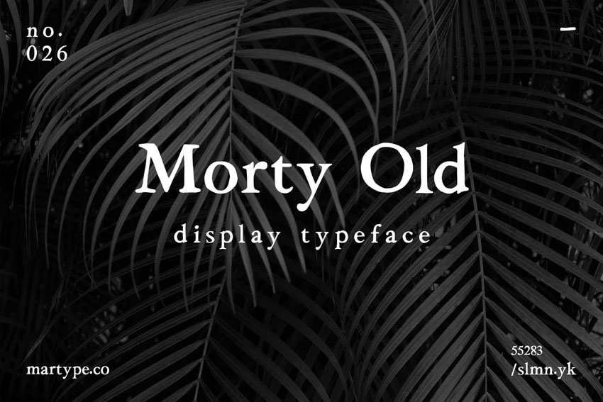 old style font