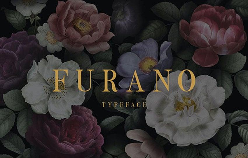 Furano Font Elegant Old Style Font