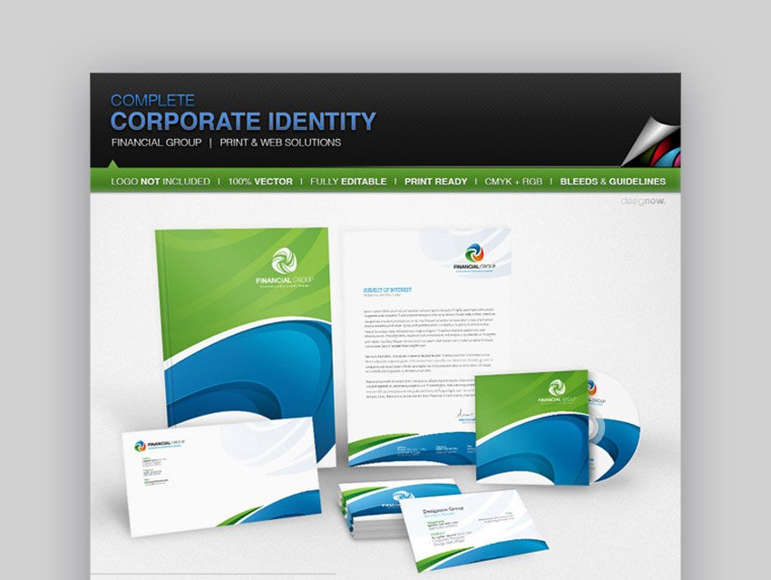 Corporate Identity Package Financial