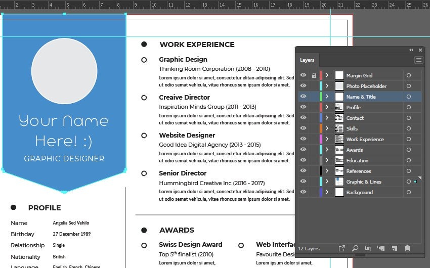 Illustrator Layers