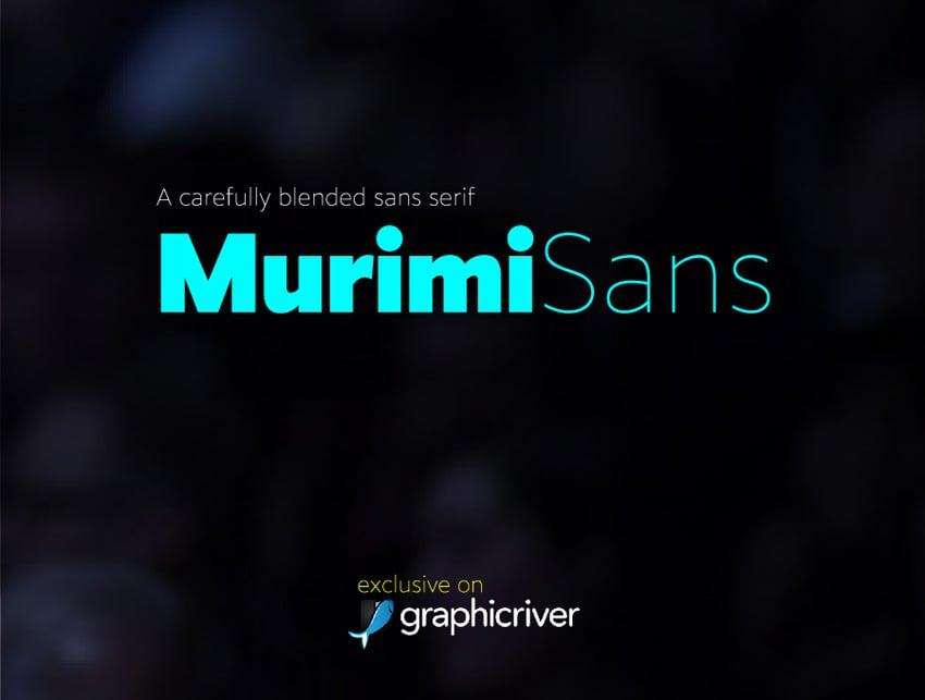 Murimi Sans Font