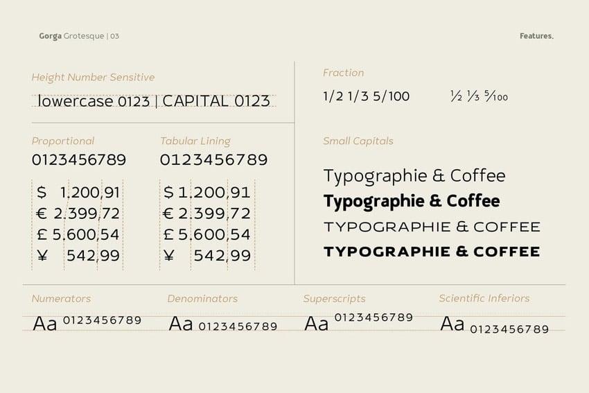 grotesque sans serif