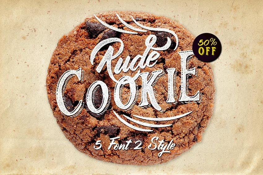 Rude Cookie Font by maghrib