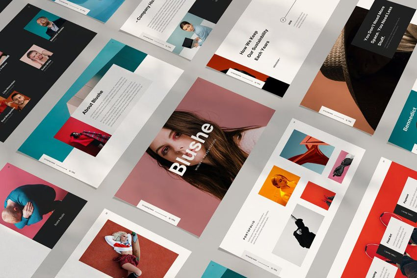 aesthetic powerpoint templates download