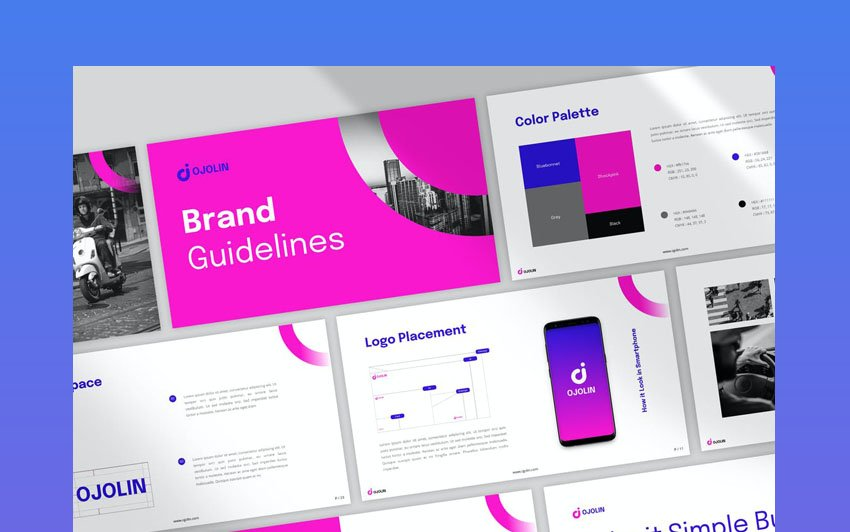 powerpoint aesthetic themes