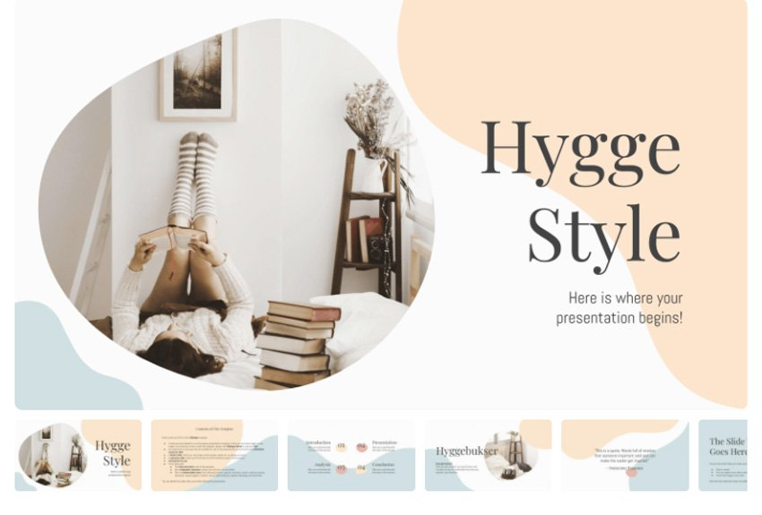 Aesthetic powerpoint template