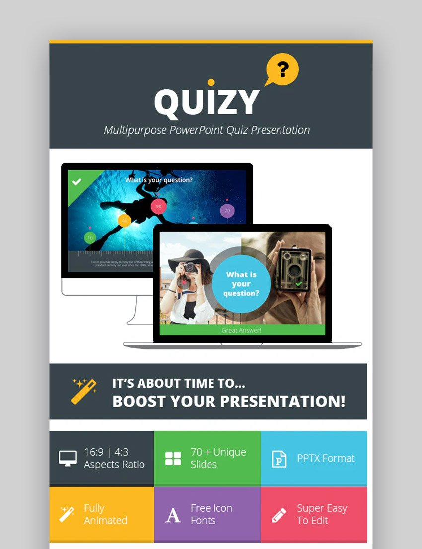 21+ Free Trivia PowerPoint Templates (Jeopardy PPTs & More) Pertaining To Trivia Powerpoint Template