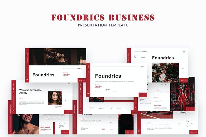 Foundrics Business Powerpoint Template