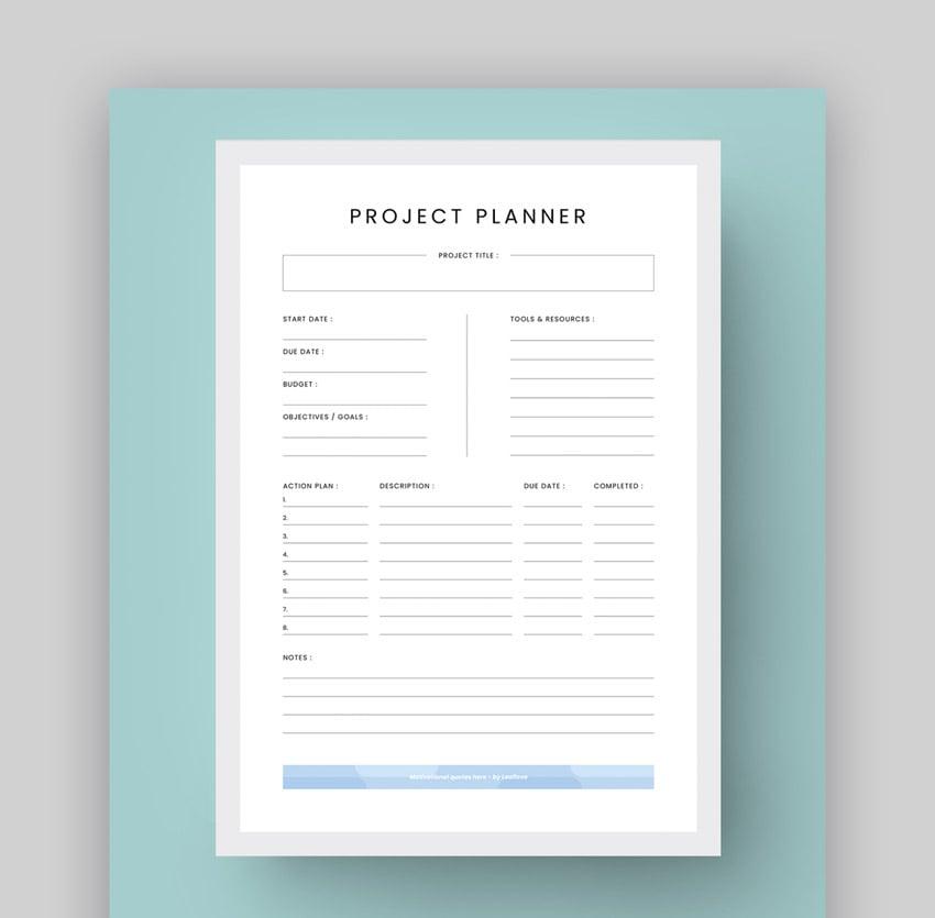 MS Checklist Template