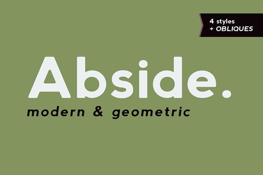 Abside Sans Serif Font