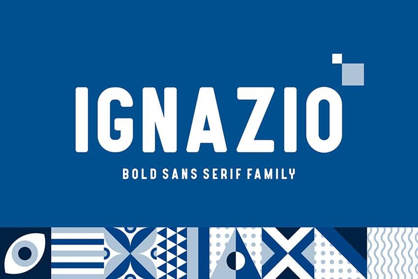 Ignazio Clean Sans Serif Font