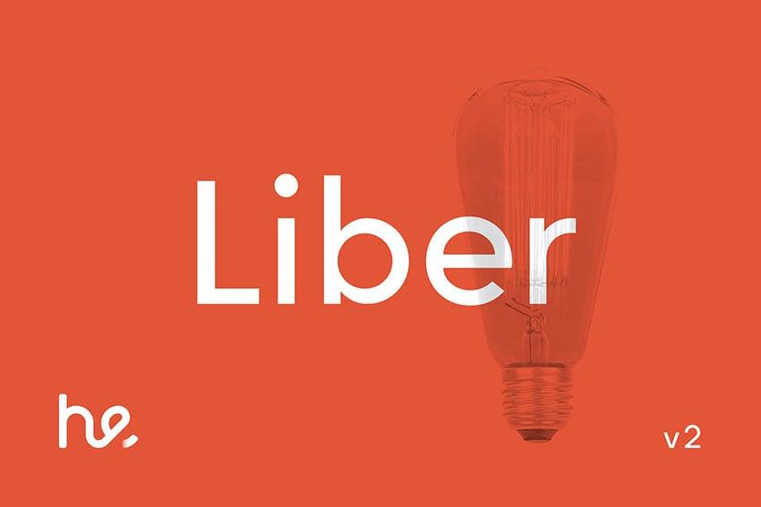 Liber Sans Serif Typeface