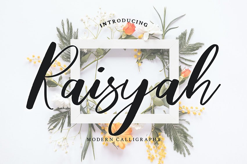 bold calligraphy font