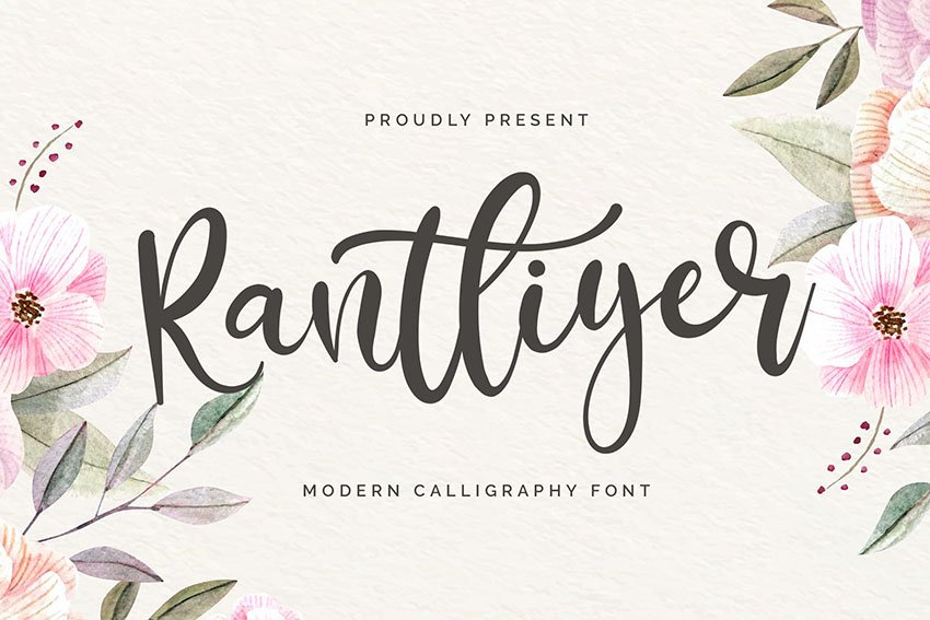 calligraphy font