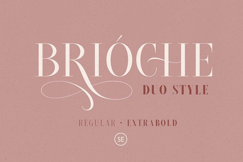 Brioche - Regular & ExtraBold
