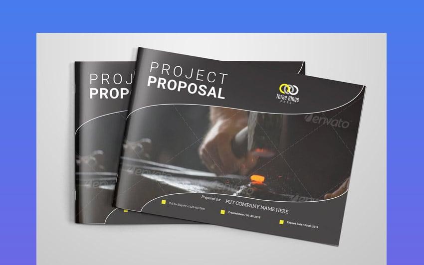 Landscape graphic designer proposal