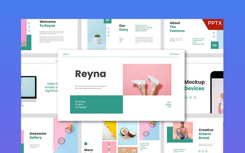 Reyna Powerpoint Template