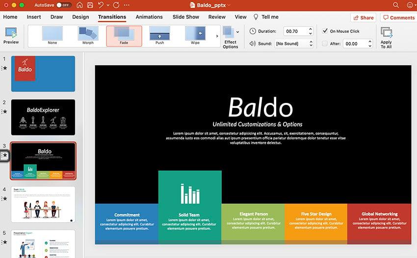 PowerPoint Thumbnail animation