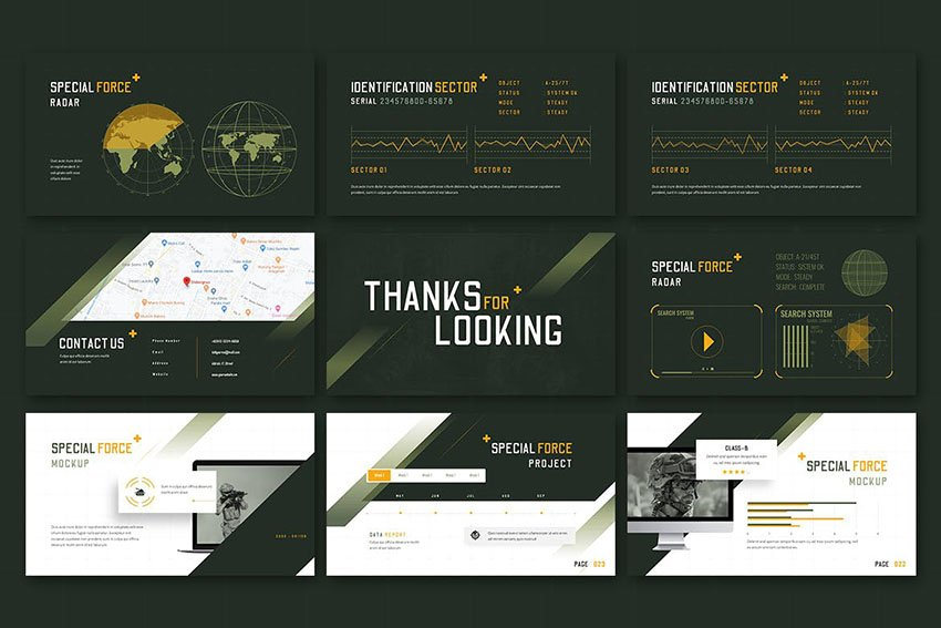Special Force - Powerpoint Template