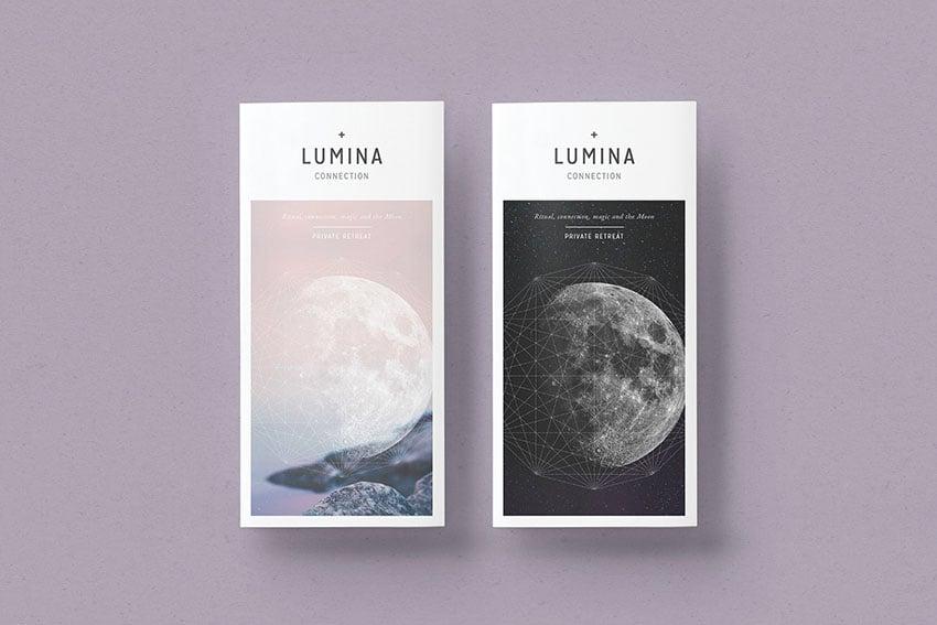 LUMINA Trifold Brochure