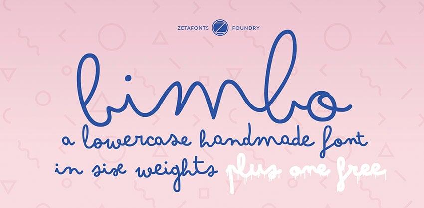Bimbo Free Font Family