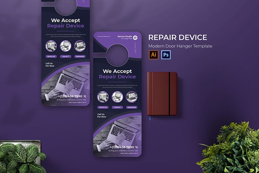 Repair Device Door Hanger