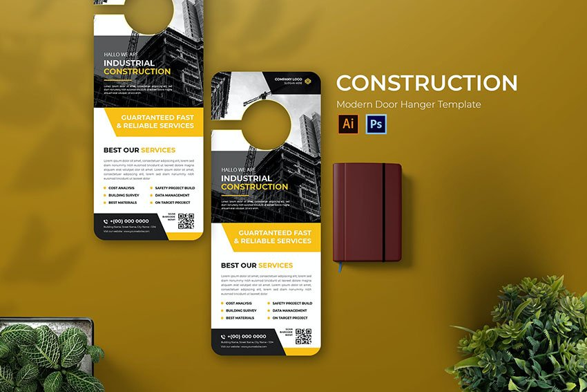 Industrial Construction Door Hanger