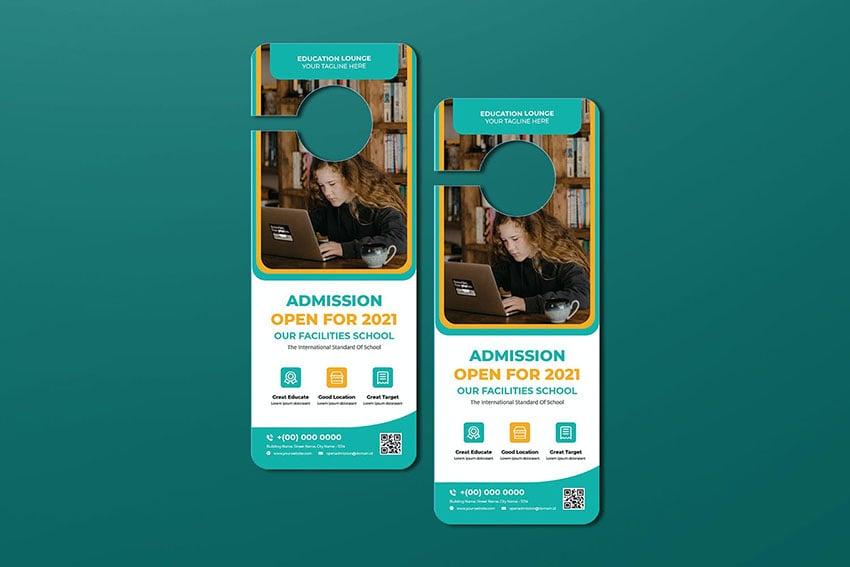 Admission Agency Door Hanger