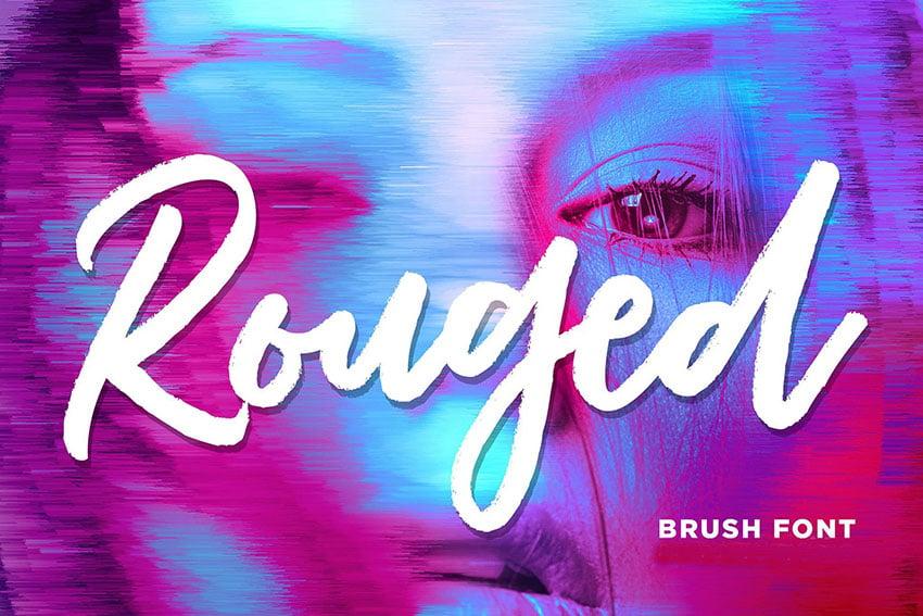 Rouged Brush