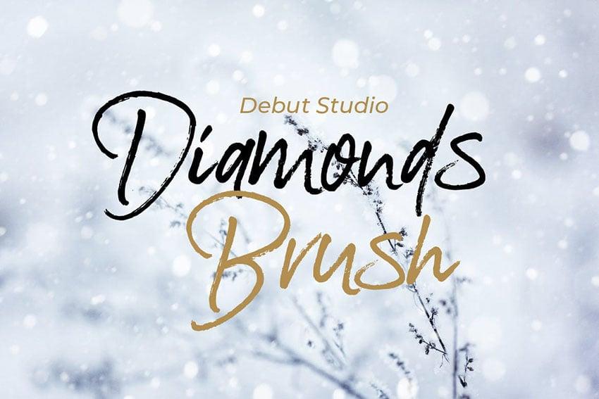 Diamonds Brush