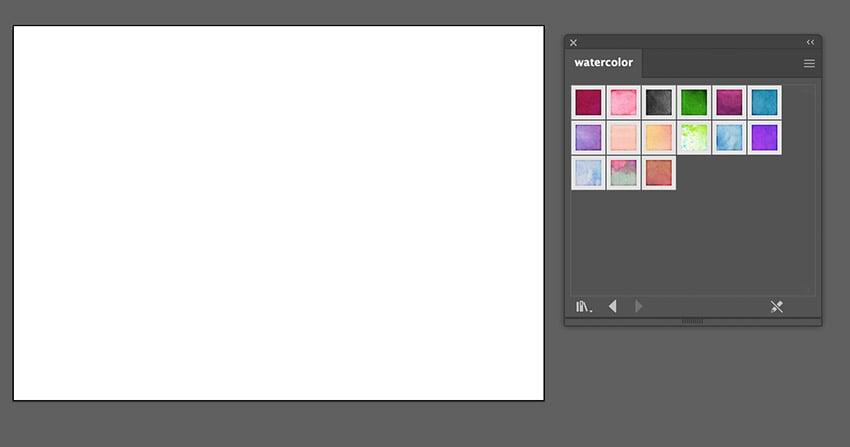 watercolor vector effect