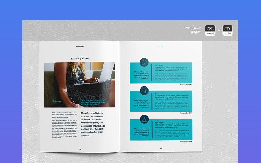 word business template