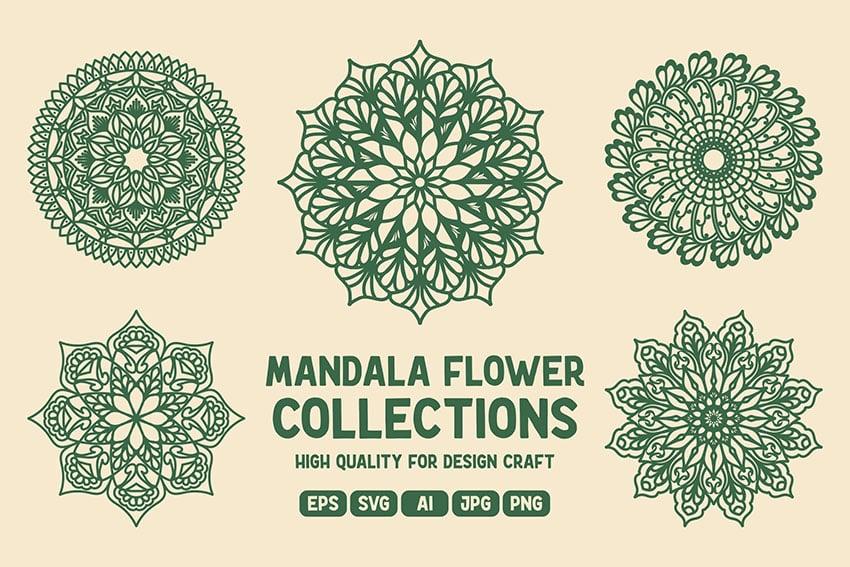Mandala Flower Collections