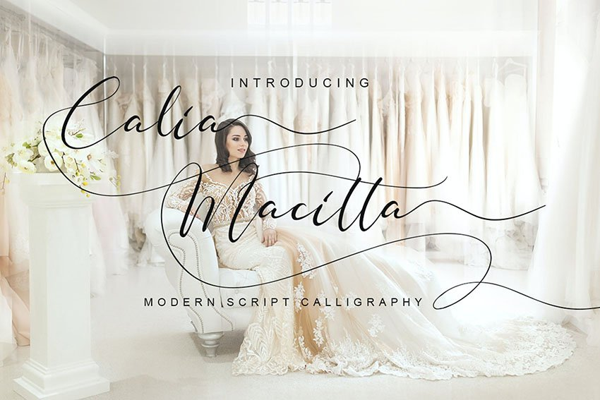 Calia Macitta Font
