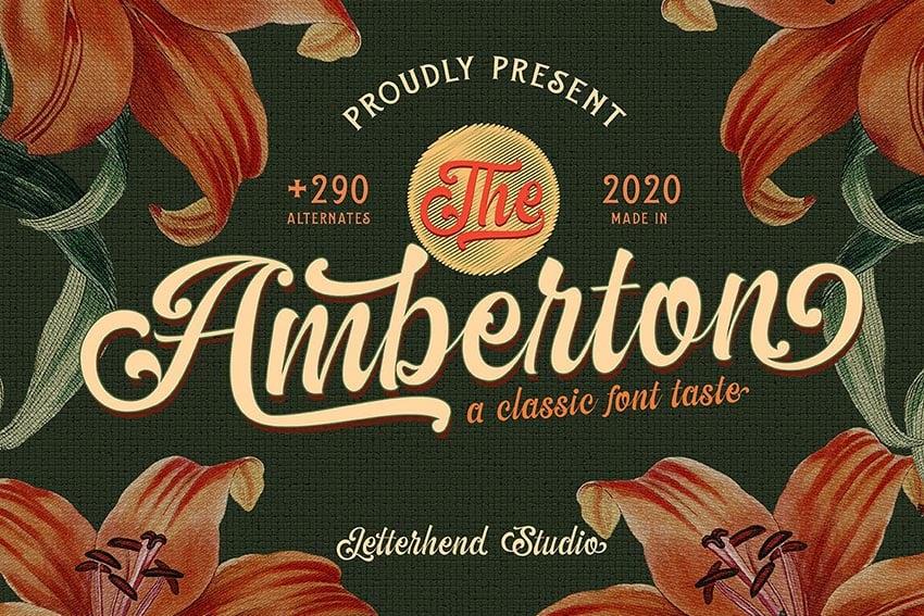 The Amberton - A Classic Script