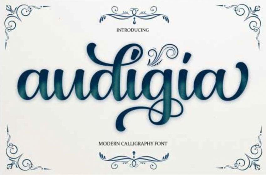 Audigia Script