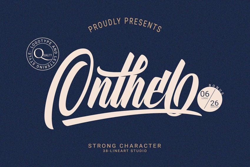 Onthel - Bold Script