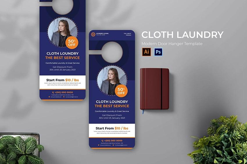 Cloth Laundry Door Hanger