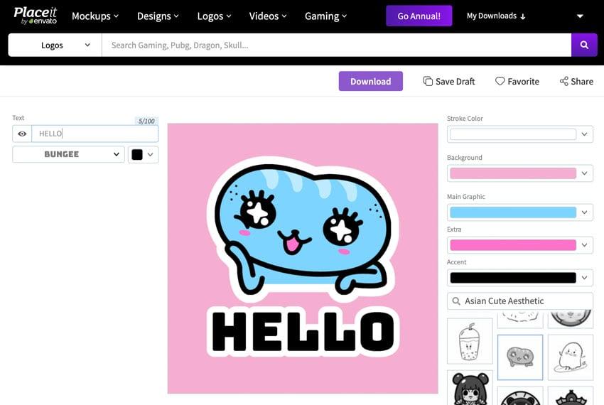 customized twitch emote maker