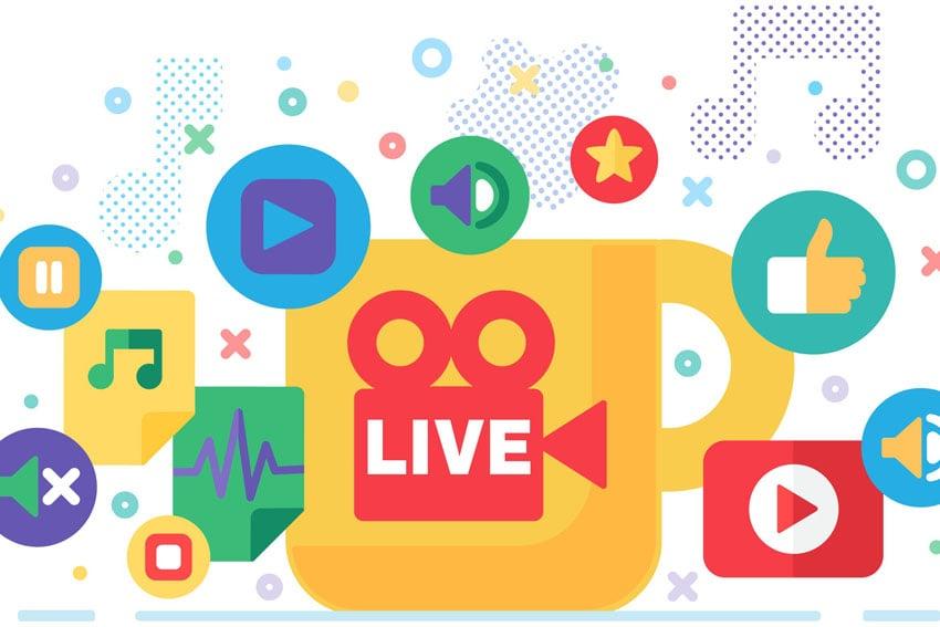 live streaming social media